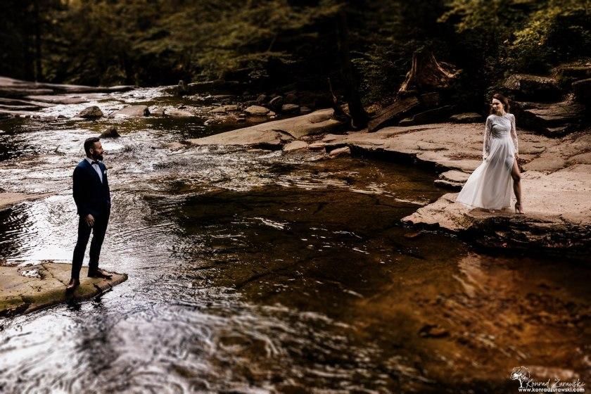Wodospad Mumlavy ma wiele do zaoferowania podczas ślubnych zdjęć | Konrad Żurawski