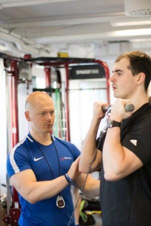 Jõusaali treeningkava