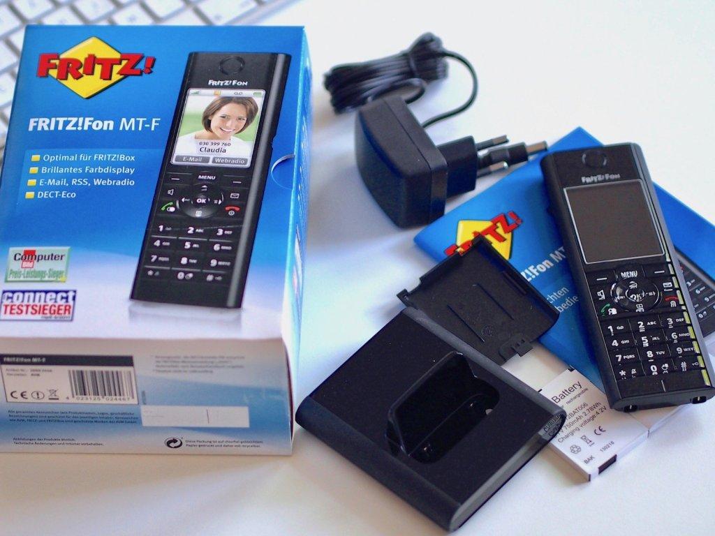 AVM FRITZ!Fon MT-F DECT-Komforttelefon   Foto: konsensor.de