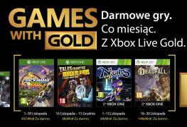 Games with Gold listopad 2017