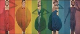 Erwin Blumenfeld - Studio Blumenfeld: Color, New York 1941 – 1960