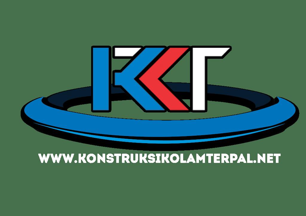 logo konstruksi kolam terpal