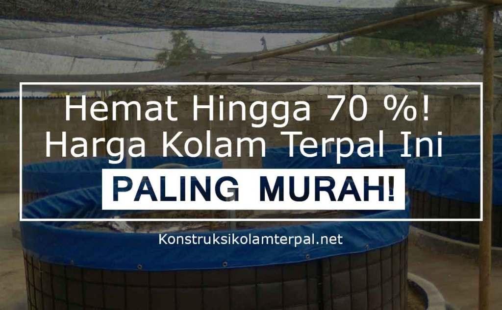 Hemat Hingga 70%! Harga Kolam Terpal Ini paling Murah