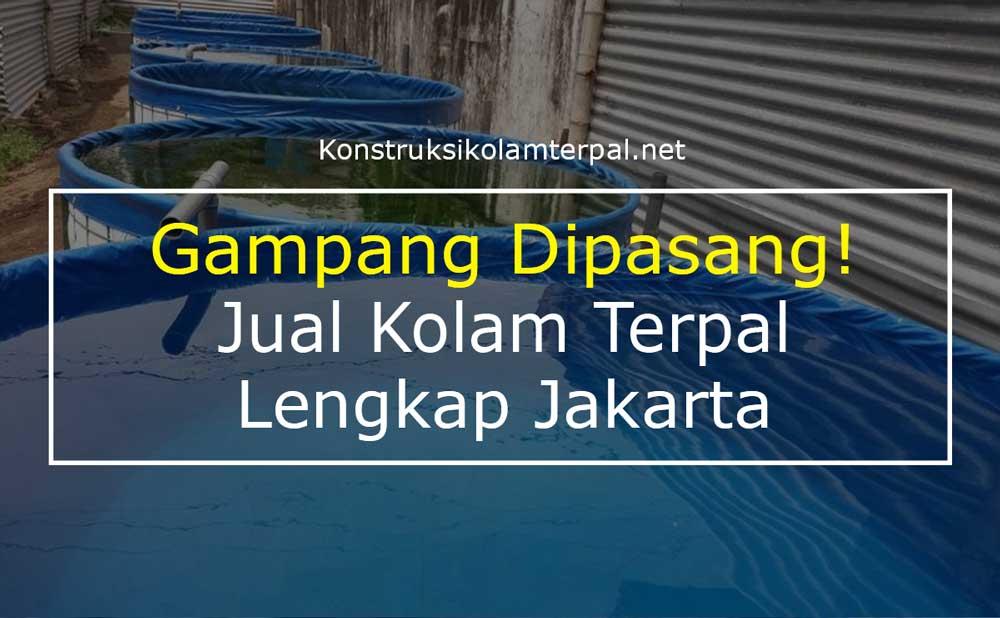 Gampang Dipasang! Jual Kolam Terpal Lengkap Jakarta 2