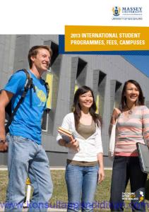 Biaya kuliah Massey 2013