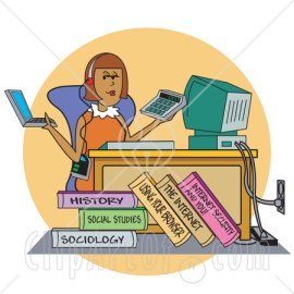 College-Student-Working