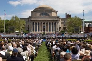 Columbia University graduation day. New York City 2005
