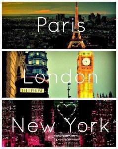 Paris-London-New-York