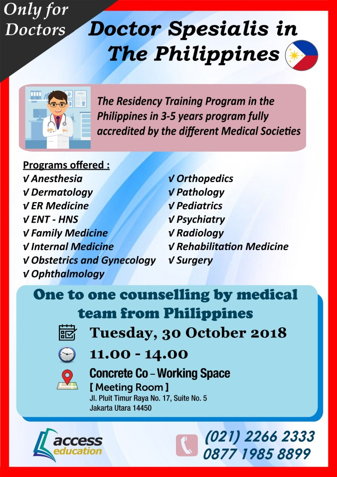 30 Okt 2018 - Counseling by Medical Team Philippines