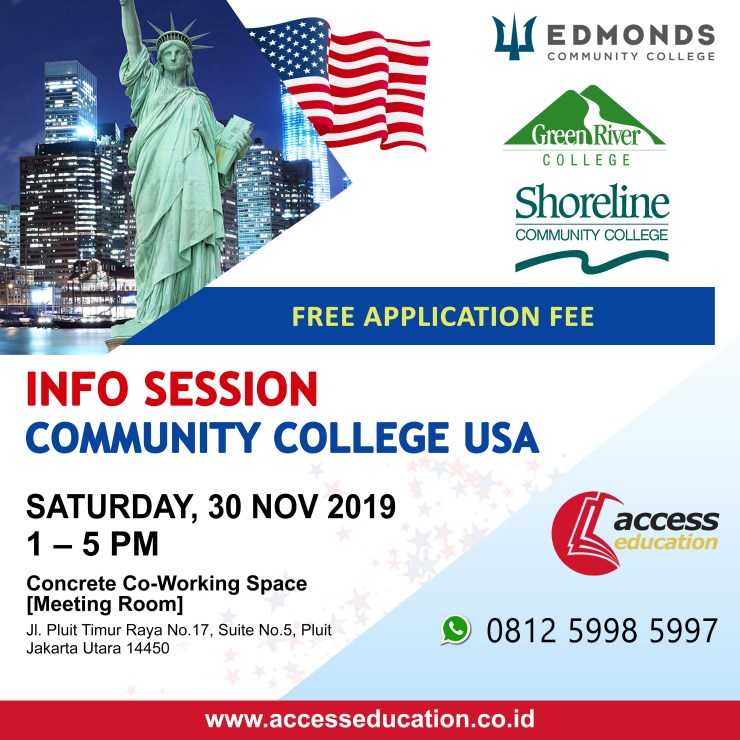Community College USA - 30 Nov 2019 (Website Konsultan)