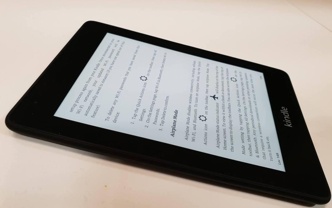 Kindle Paperwhite käyttökokemuksia