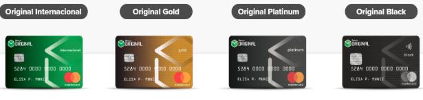 Cartão de Crédito Original