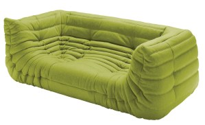 Togo sofa in lime green-Sofas-furniture-kontaktmag-09
