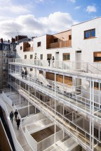 VINCENT PARREIRA ARCHITECTE, LOGEMENTS, PASSAGE DELESSERT, PARIS