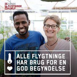 Dansk Flygtningehjælps Frivilliggruppe, Svendborg søger frivillige.