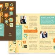 bisnis jasa brosur desain grafis kontenesia