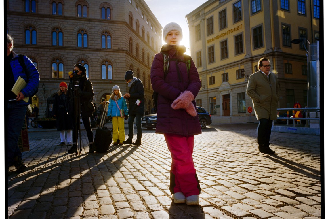 A day with Greta Thunberg