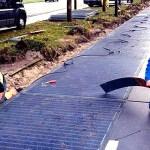 Primera «calle solar» que genera energía
