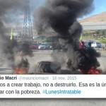 Macri lo hizo: 25.000 obreros de la construcción en la calle