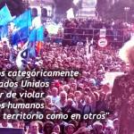 """Estela de Carlotto criticó duramente a los EEUU y a """"Cambiemos"""""""
