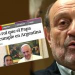 Alfredo Leuco contra el Papa Francisco