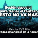 ¿Podrá el Congreso anular el brutal Tarifazo de Macri?