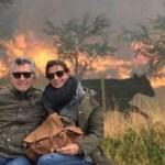 Más de 1 millón de hectáreas incendiadas en Argentina. Macri de vacaciones. Bergman rezando