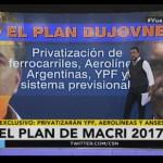 """Navarro: """"Hay que parar a Macri. Se viene la Privatización de YPF, Aerolíneas y el Sistema Previsional"""""""