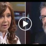 """CFK: """"Acá desapareció una persona y el gobierno no dice nada. La democracia está en emergencia en toda América Latina"""""""