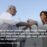 Jorge Taiana: «Queremos construir una Argentina justa, libre y soberana».