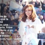 Cristina: «El 22 de octubre se elige si el Tercer Senador va a ser Jorge Taiana o Gladys González (PRO)»