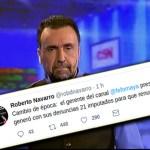 Urgente: C5N presiona a Roberto Navarro para que renuncie. Lo reveló el mismo periodista en Twitter
