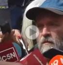 """(VIDEO) Sergio Maldonado: """"Tengo más dudas que antes, no murió por estar de turista, estaba en una represión de Gendarmería ilegal"""""""