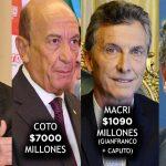 La lista de los mayores blanqueadores de dinero fugado de la Argentina