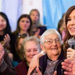 Cristina alertó por el futuro de las jubilaciones