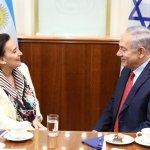 ¿A qué fue Gabriela Michetti a Israel? ¿Qué acuerdos realizó con el genocida Netanyahu?