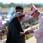 Desde la Patagonia y junto a pueblos indígenas, Francisco llamó a ser «artesanos de la unidad» para que no gane la «división»