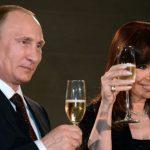 """El mensaje de Putin a Cristina: """"Que el 2018 satisfaga nuestros sueños"""" y traiga """"cambios para mejor"""""""