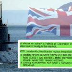 Documento secreto: el submarino ARA San Juan tenía orden de espiar objetivos británicos. Se refuerza hipótesis de ataque externo