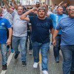 """Pablo Moyano: """"Vamos a pelear por el 23% de aumento, por más presiones y tapas de Clarín que tengamos en contra"""""""