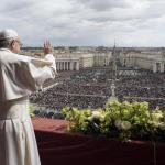 Francisco pidió en Pascuas poner fin al «exterminio en Siria» y los conflictos en Palestina, Corea del Norte y Venezuela