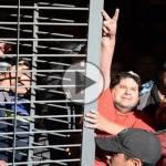 """(VIDEO) Néstor Segovia detenido: """"Si el subte pierde, perdemos todos"""""""