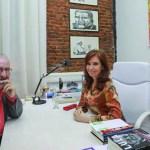 Atilio Borón con Cristina Kirchner: «Es la única que puede expresar la crítica más profunda a las políticas del FMI y del neoliberalismo»