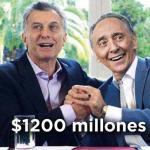 El blindaje de Clarín a Macri ya nos costó $1200 millones en «pauta oficial» a todos los argentinos
