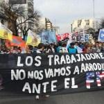 Importante movilización de Movimientos Populares contra el FMI en San Cayetano. El Mensaje de Mario Poli