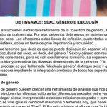 La Iglesia explicó la diferencia entre «sexo», «género» e «ideología de género» y rechazó la imposición de esta última en las escuelas