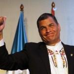 """Rafael Correa, crítico con el feminismo: """"En Brasil con el #EleNão le subieron 6 puntos a Bolsonaro"""""""