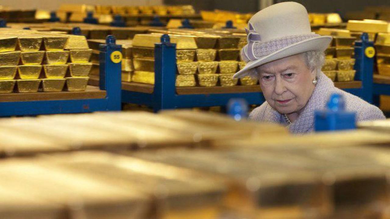 Inglaterra-Oro-Venezuela-IsabelII