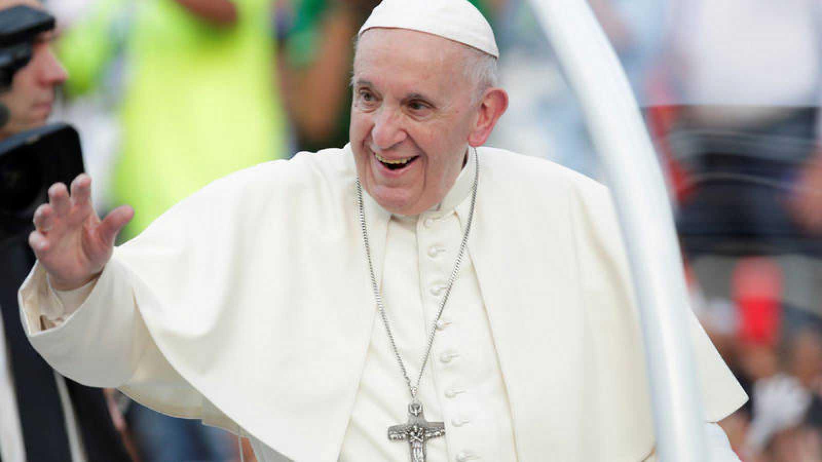 """aeb1285423306 Papa Francisco  """"Nuestros pueblos no son el  Patio Trasero  de nadie"""""""