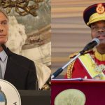 """Argentina volvió al mundo: Macri se reunió con el dictador de Suazilandia, Mswati III, """"Rey León"""" con 15 esposas y vestidos de diamantes"""